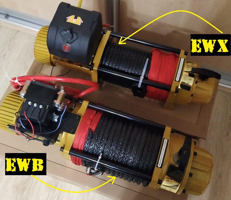 Какую лебедку выбрать EWB или EWX